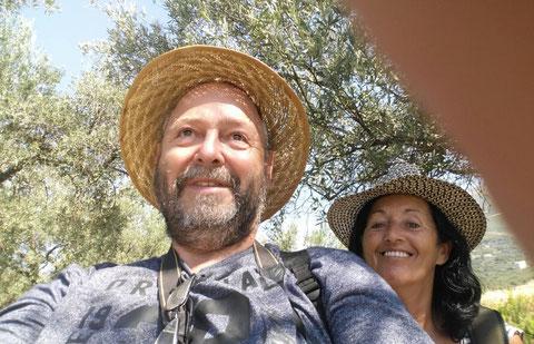 Rentnerversuch eines Selfies