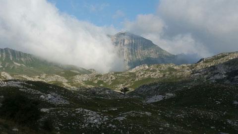 """Die """"Panoramastraße"""" führte quer über das Durmitor Gebirge - fantastisch"""