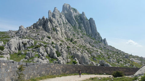 D e r  Winnetou Berg - rings um diesen Berg wurden die meisten Szenen der Kal May Filme gedreht.