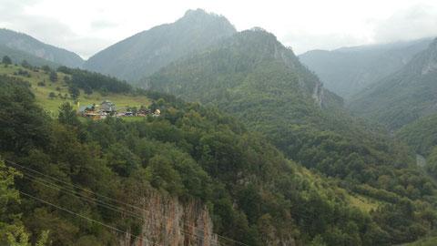 Unser Campingplatz an der Tara Schlucht