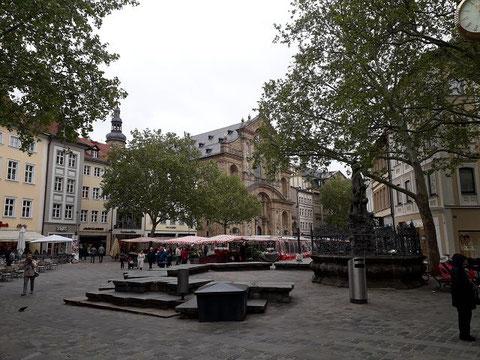 Marktplatz in Bamberg