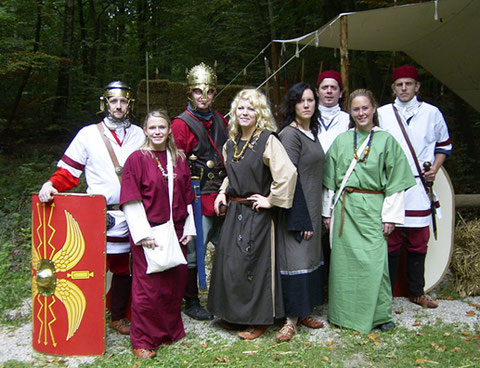 Schülerrallye mit Römern