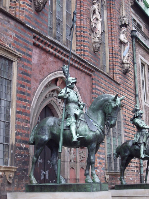 Stadtrallye Bremen , historische Gebäude