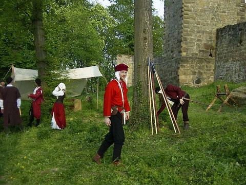 Zeitzeugen Mittelalter Rallye