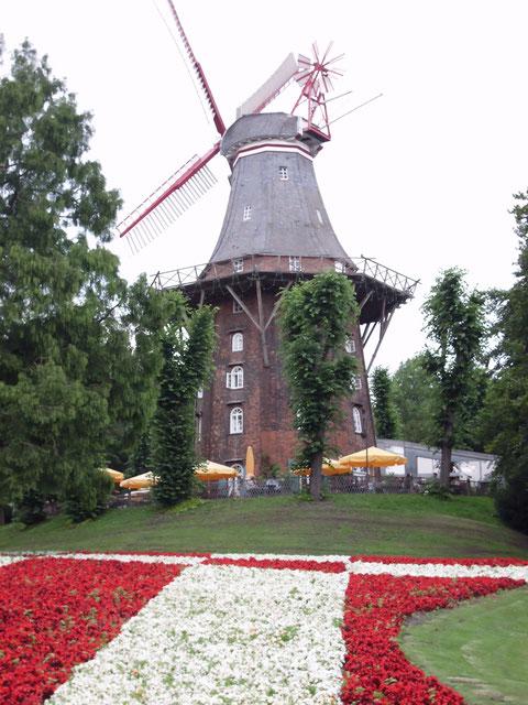 Stadtrallye Bremen, historische Mühle