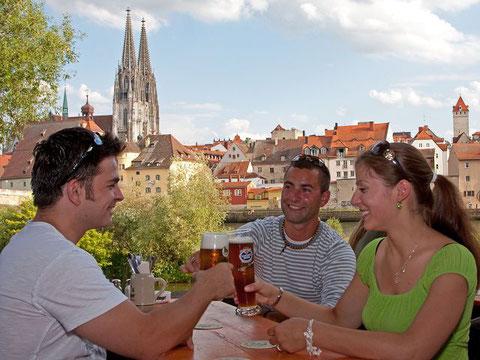 Regensburg , kulinarische Stadtrallye