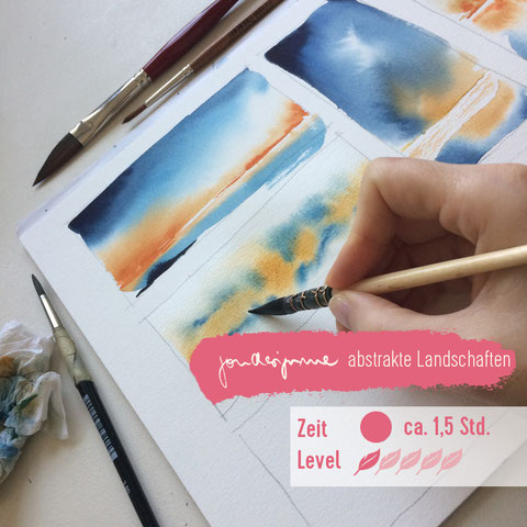 aquarell malen lernen, online malen lernen, Aquarelllandschaft, Landschaftsaquarell, aquarell anleitung, aquarell tutorial, Lanschaften malen