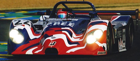 The Nissan R391 @ the 1999 24 Hours of Le Mans