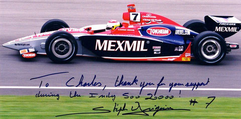 Stefan Gregoire's #7 G-Force GF05 @ the 2000 Indy 500