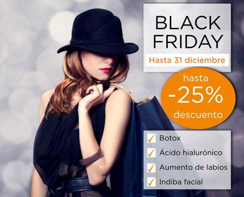 oferta black friday botox acido hialuronico aumento de labios indiba