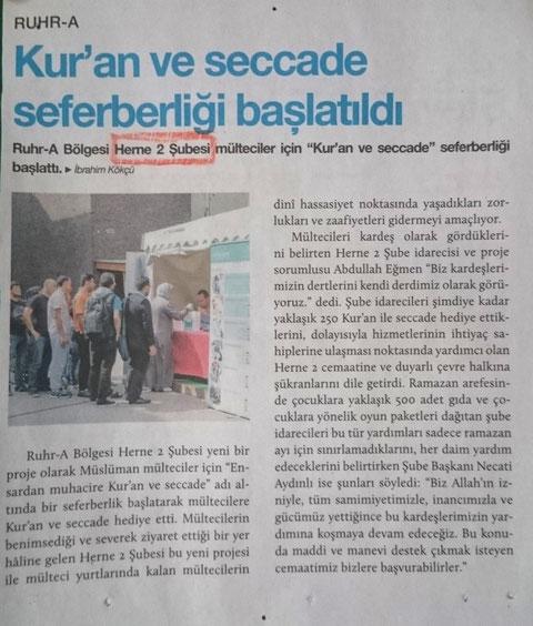 Quelle : Camia Zeitung
