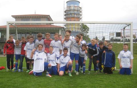 D-Jgd. Mannschaftsfoto des Pokalhalbfinals