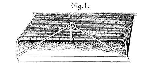 Une rare représentation d'une drague à sable (statistique agricole du canton de Morlaix 1848)