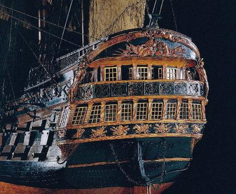 L'artésien vaisseau de 64 canons de 1764