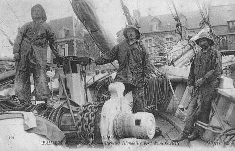 Le puissant guindeau à brimbale des goélette d'Islande