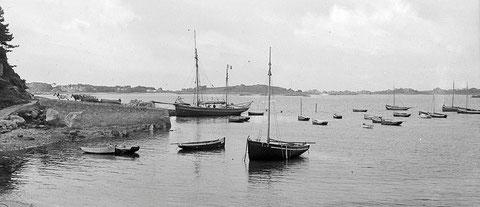 Dundée à la cale du Port-Blanc, la Lucienne n'a jamais navigué dans les eaux bretonne