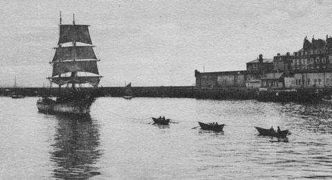 L'Anne-Marie ne rentrera plus à Saint-Malo comme ce brick-goélette