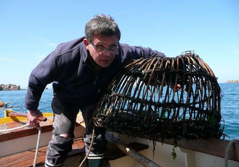 Été 2013 en pêche aux casiers à bord de Kernoc'h