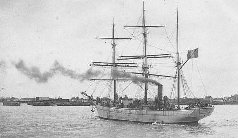 Le Pourquoi-Pas de retour à Saint-Malo, ce navire mixte associe puissance et grâce