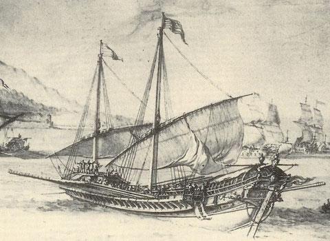 Galère par Pierre Puget 1655