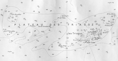 La petite Fouillie dans l'ouest du plateau des Triagoz