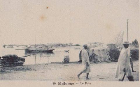 Dundée, à Madagascar au port de Majunga côte nord-ouest de l'île, la Lucienne semble plutôt avoir fréquenté la côte Est de l'île