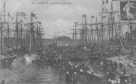 Le pardon des islandais, en février avant le départ pour Islande, cette photo est postérieure au récit, le nouveaux bassin est à gauche