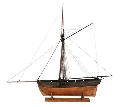 Le Voltigeur pouvait également ressembler à ce modèle de cotre anglais (National Maritime Museum)