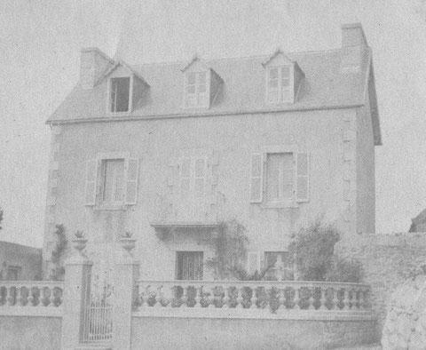 La maison des grands-parents de Jeanne, Michel Floch et Euphrasie Stéphan  au Creac'h Bihan