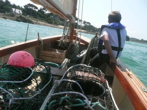 Route pêche