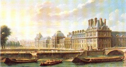 Palais des Tuileries à Paris