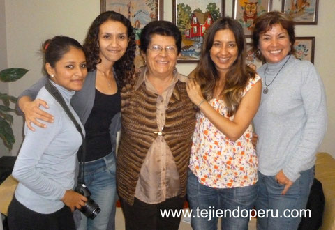 Esperanza Rosas en el diario El Comercio del 12 de agosto, 2012