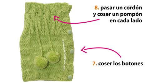 Cómo tejer un cobertor de tetera en dos agujas o palitos!