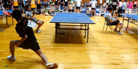 チャレンジリーグの試合は第2体育館で行われました。