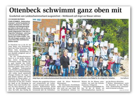 Stader Tageblatt August 2011