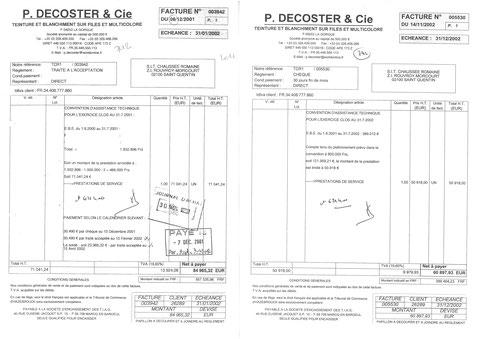 En 2001 & 2002 JE SUIS TÉMOIN EN MA QUALITÉ DE COMPTABLE D'UN ABUS DE BIEN SOCIAUX à la TEINTURERIE DE LA CHAUSSÉE ROMAINE pour un montant de 121.959.24€HT PDG Mr Philippe REMY www.jesuispatrick.fr www.jesuisvictime.fr JE SUIS VICTIME DE REPRÉSAILLES. SOS