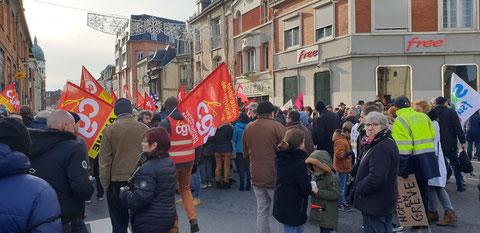 Manifestation du 11 Janvier 2020 à SAINT-QUENTIN (02)