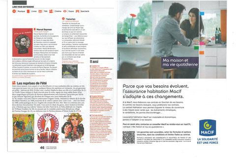 Magazine CFDT N°405 Juillet-Août 2014 LE CAP EST FIXE avec avec son partenaire MACIF Ma Maison et ma Vie Quotidienne LA SOLIDARITE EST UNE FORCE