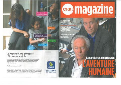 Magazine CFDT N°409 Janvier 2015 LA FORCE DE L'ENGAGEMENT avec avec son partenaire MACIF LA SOLIDARITE EST UNE FORCE