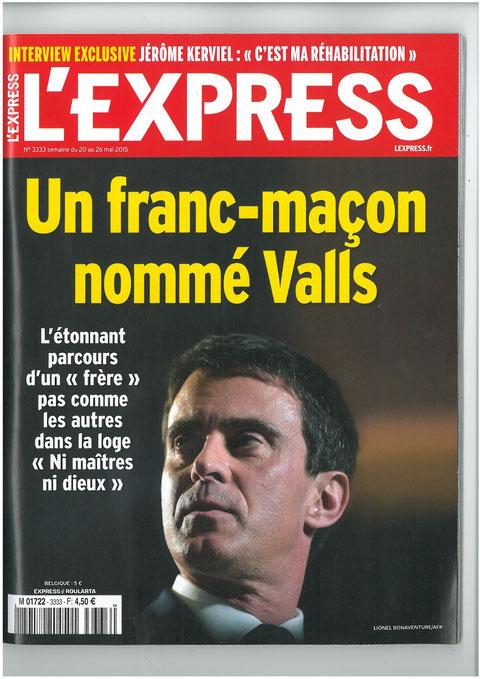 L'EXPRESS du 20 au 26 Mai 2015  voir site www.maisonnonconforme.fr