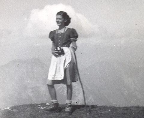Christine am Reiting bei Mautern, Liesingtal, Obersteiermark (1953)