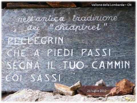Vallone della Lombarda - CN