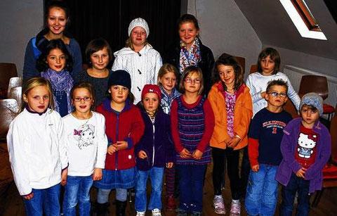 Kinder- und Jugendchor - Leitung: Xenia Trendel  2012