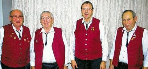 Die neuen Ehrenmitglieder: Manfred Hey und Rudolf Merz -  2014