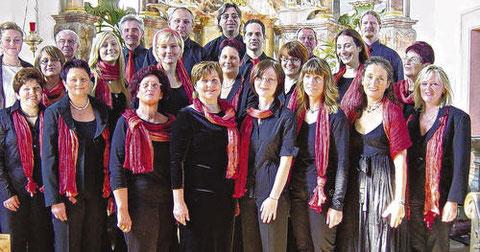 Chor 2007 - Leitung Franziska Bauer