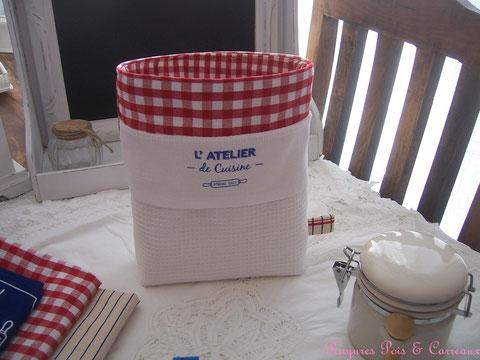 Collection L'atelier de Cuisine  *** Corbeille/Panière - VP0912181 -