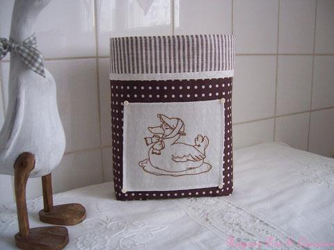 Vide-Poche ou Panière Shabby Vintage 16euros (frais de port compris)- réf: VP0409141
