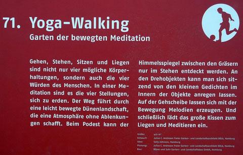 71. Yoga-Walking  Garten der bewegten Meditation