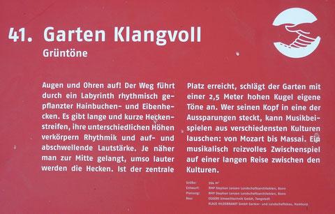 41. Garten Klangvoll  Grüntöne
