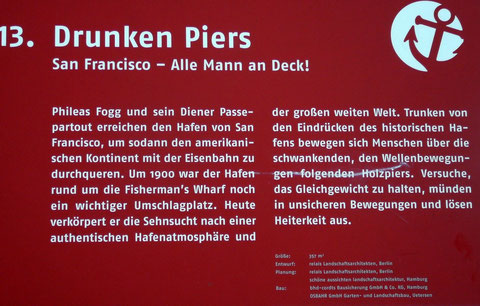 13. Drunken Piers  San Francisco - Alle Mann an Deck!